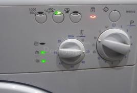 Значение кодов ошибки автоматической стиральной машины Indesit